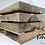 Thumbnail: Hardwood Green Oak Sleepers - Cut, Sanded & Routered To Size | Wooden Beams