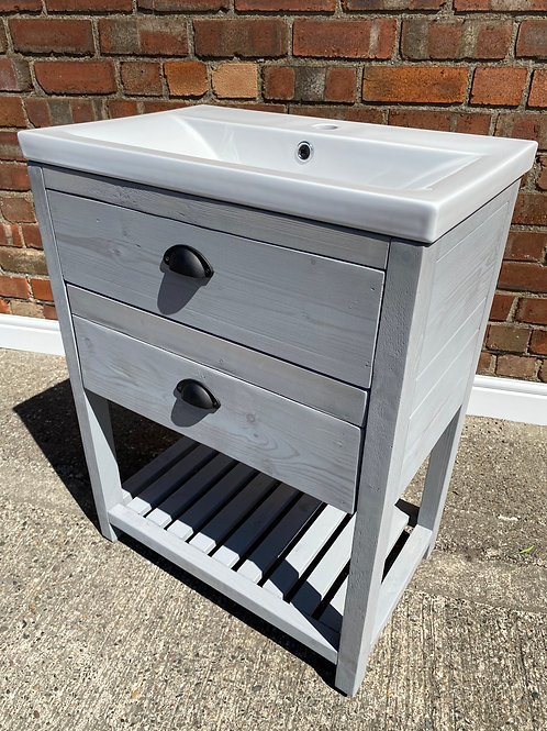 Farmhouse Vanity Unit/Wash Stand - Inspired By Simplicity - 25 Colours Available