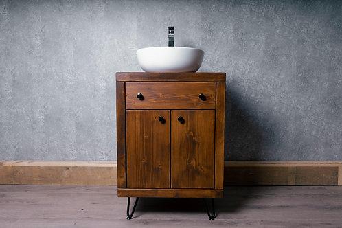 Contemporary Bathroom Wooden Vanity Unit/Wash Stand