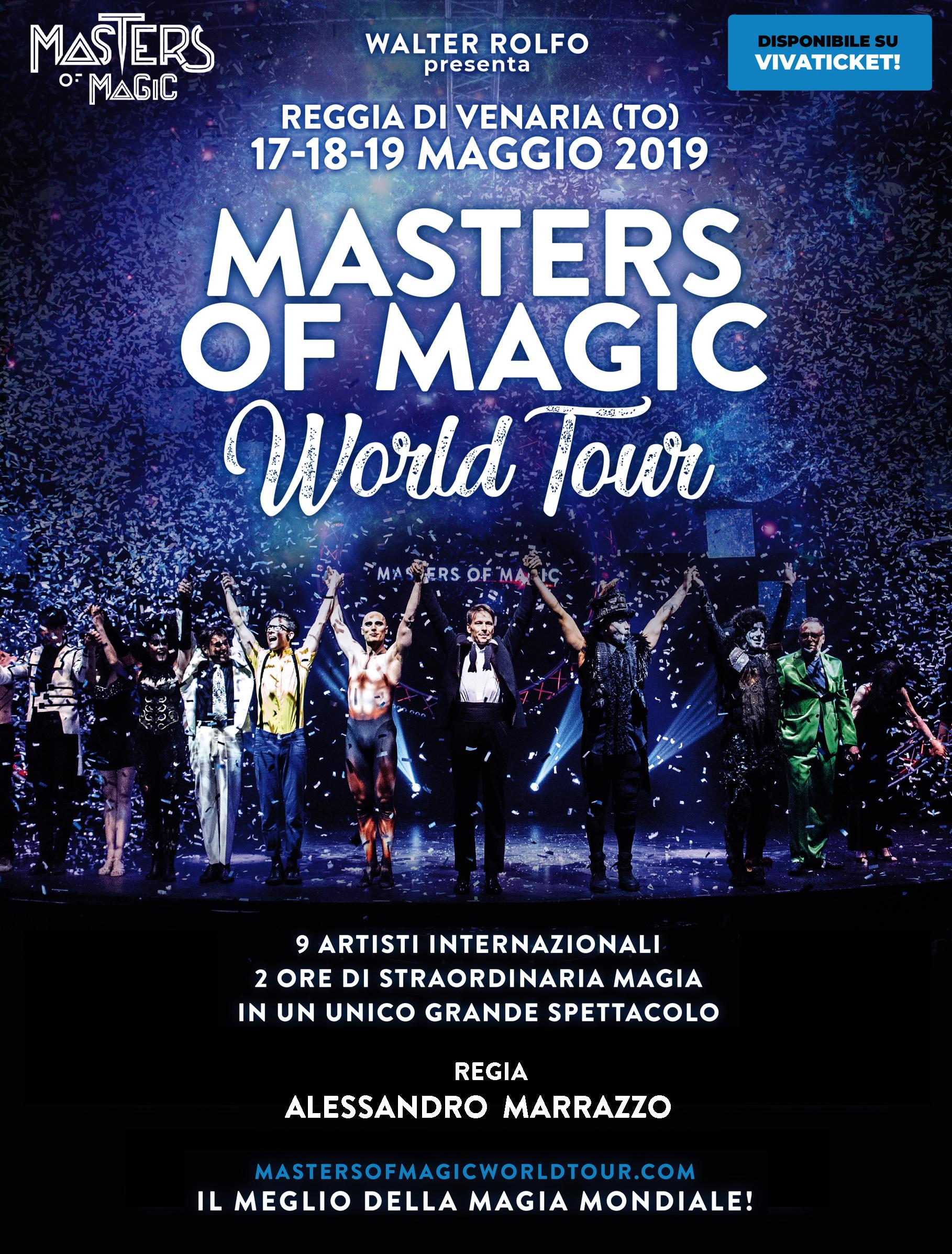 Masters of Magic World Tour