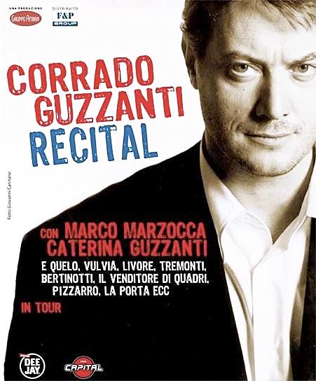 Corrado Guzzanti recital