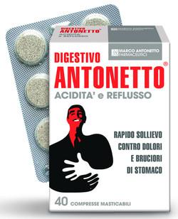 Digestivo Antonetto Acidità e Reflus