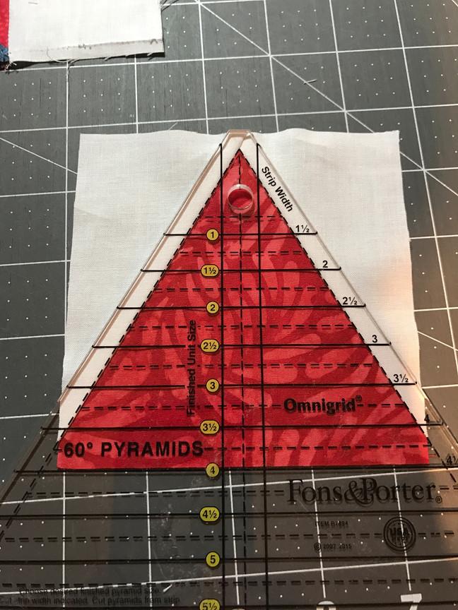 Triangle in a square