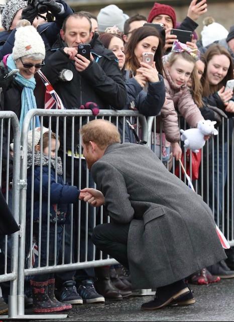 Trip to Scotland -- saw Prince Harry!