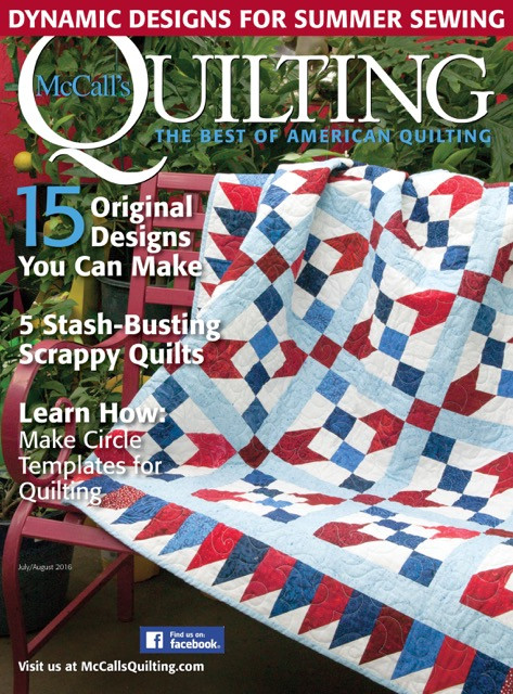 McCall's Quilting July/August 2016