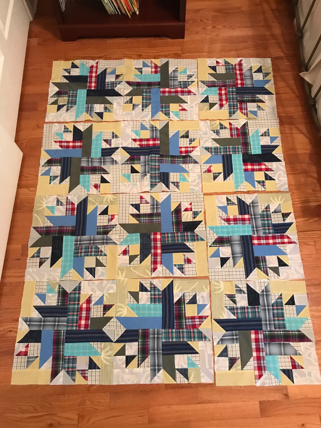 Update on Remembrance Quilt