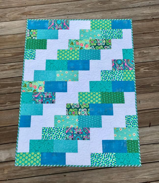 Free Brick Quilt Pattern