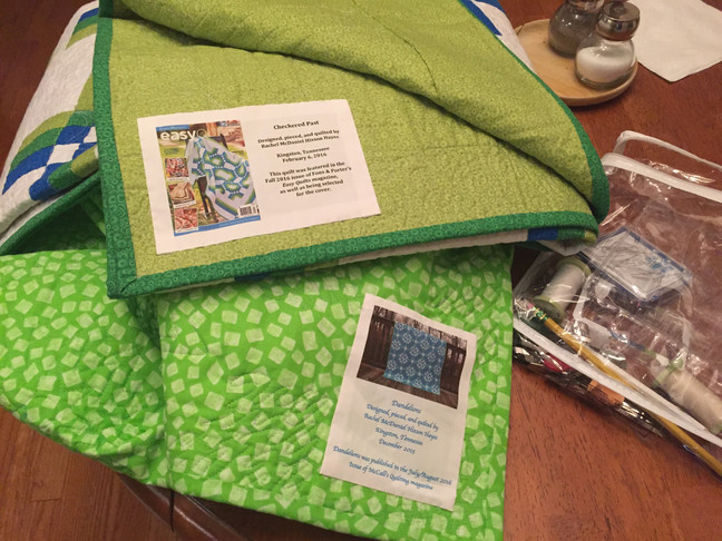 How do you make your quilt labels?