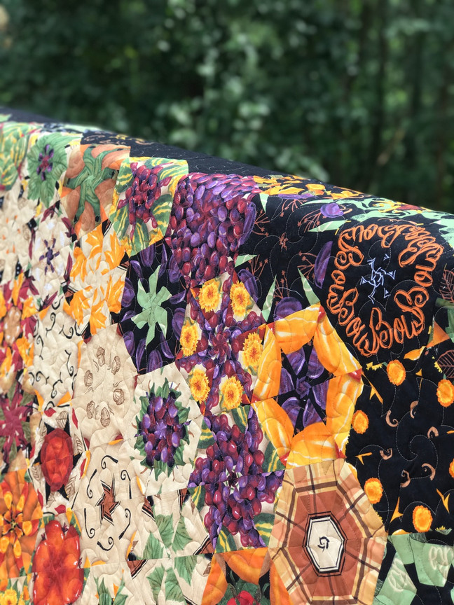 King Sized Fall Quilt