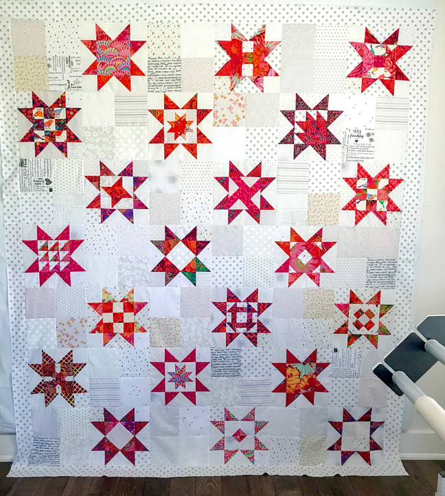Summertime quilting
