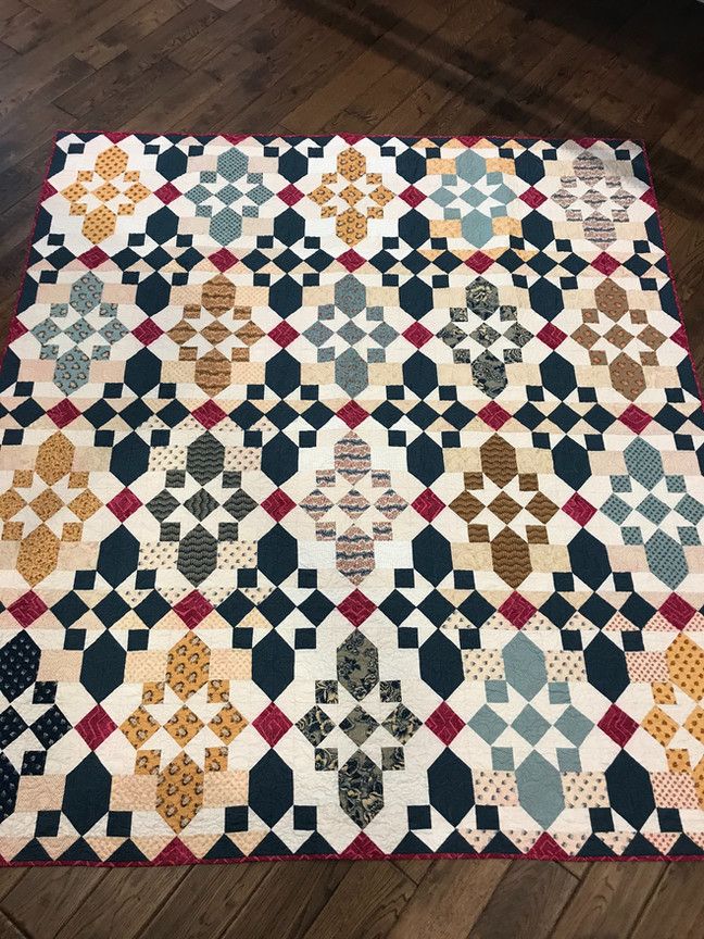New Bed Quilt
