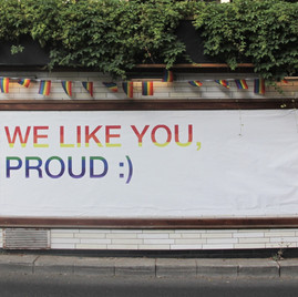 You Can Be Proud in the Closet