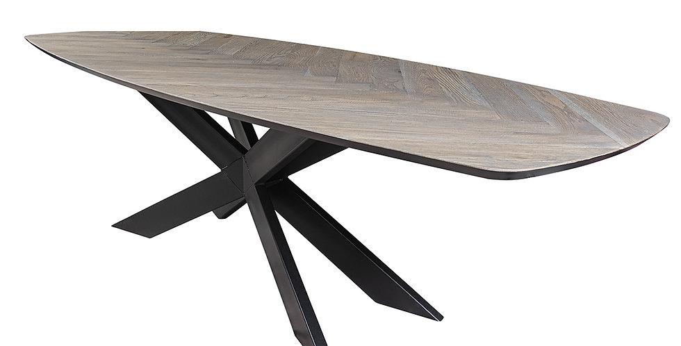 無垢天板 ダイニングテーブルFISHBONE