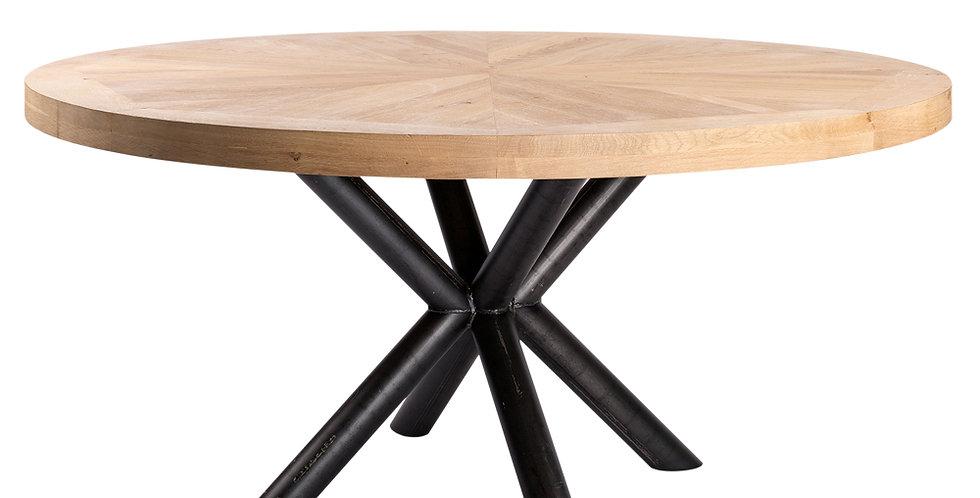 無垢天板 ダイニングテーブル 円形 Tapis