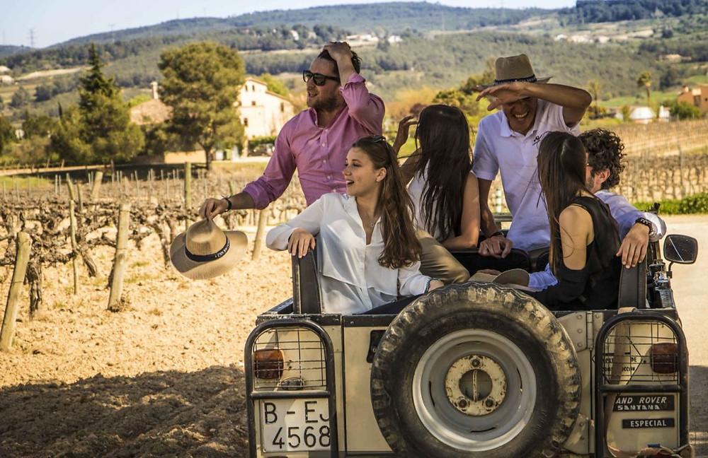 4X4 Wine Tasting Tour Barcelona - Can Bas - Penedès