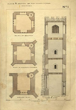 St. Augustine's Tower Floorplan