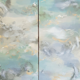 Untitled #3 Diptych (sold)