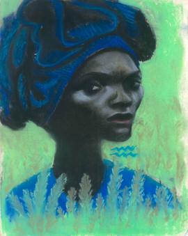 Woman in Wheatfield