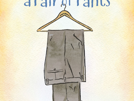 My new book: Love, Faith and a Pair of Pants