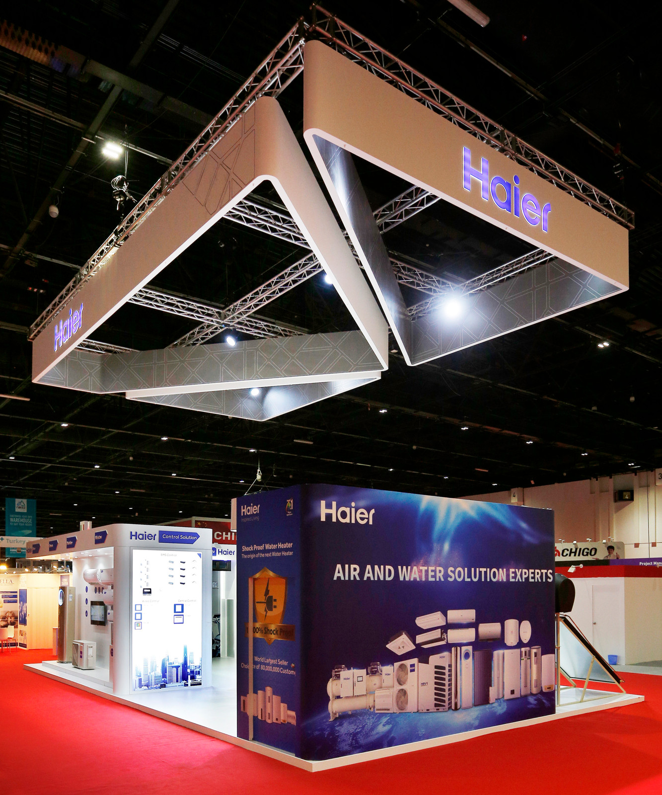 Exhibition Stand Builders Oman : Top exhibition stand builders contractors in qatar doha