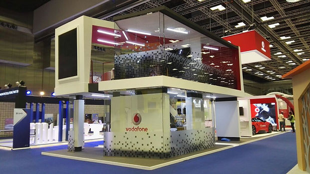Double Deck Exhibition Stand Builders in Qatar Doha