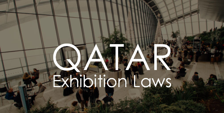qatar exhibition laws