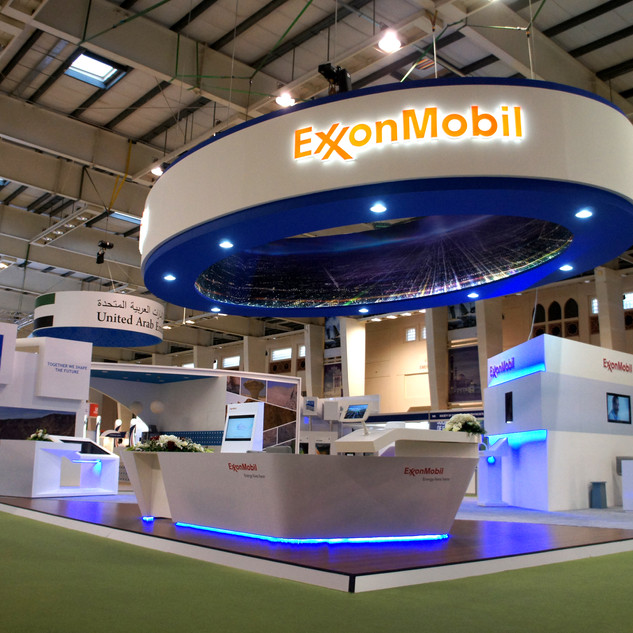 Exxonmobil Exhibition Booth
