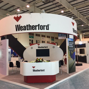 Weatherford Exhibition Booth