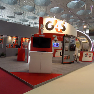 G4S Exhibition Booth
