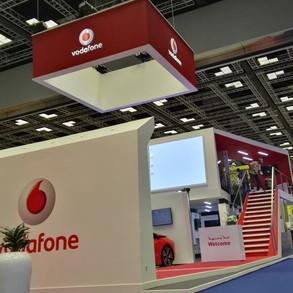 Vodafone Exhibition Booth