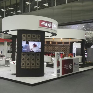 Commericial Bank Exhibition Booth