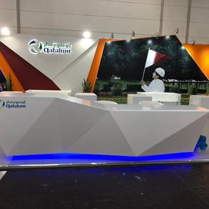Qatalum Exhibition Booth
