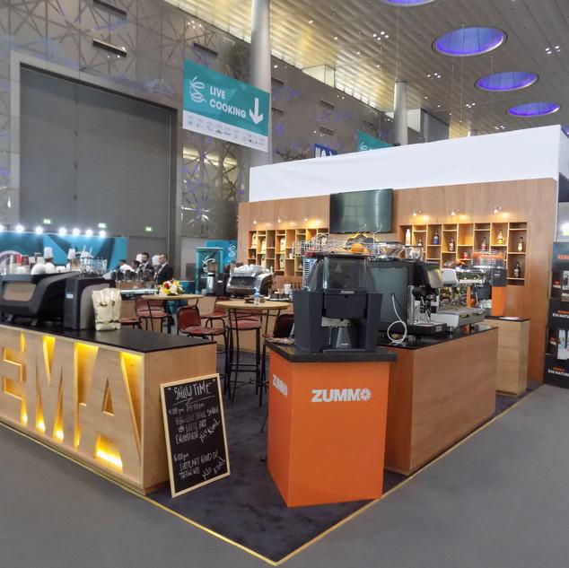 Corona Exhibition Booth