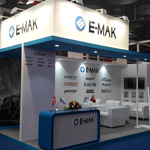 E-MAK Exhibition Booth