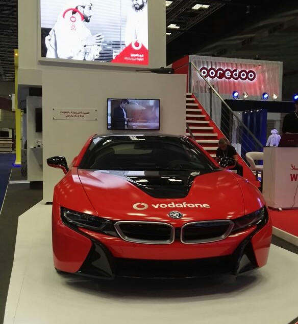Vodafone Exhibition Booth