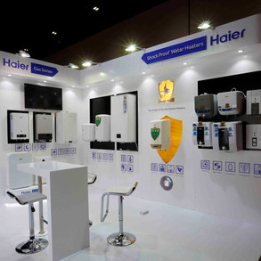 Haier Exhibition Booth