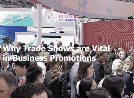 Why Trade Shows Are Still Vital In Business Promotions