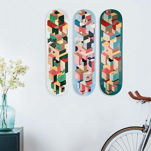 Skateboard deck | Urban Jungle - Green
