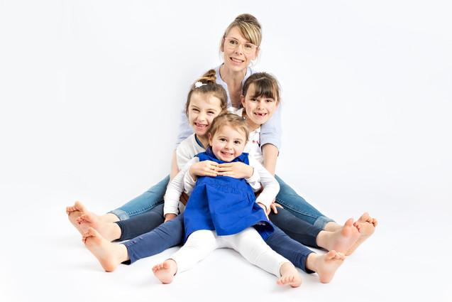 Séance photo famille studio vendée