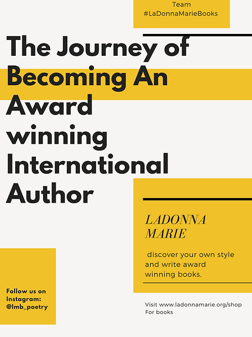Journey to Becoming International Author