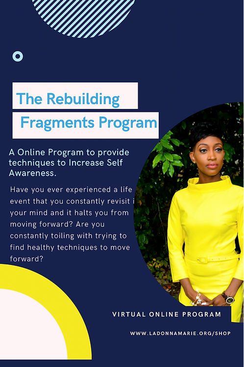 4 Week Rebuilding Fragments Program with Book