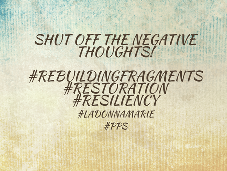 Shut Off The Negative Thoughts