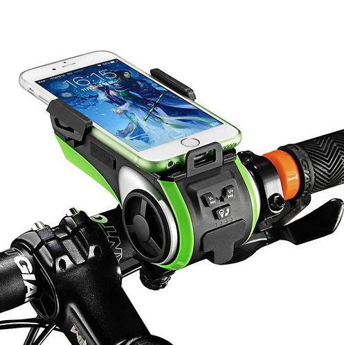 Digitalk Bicycle Light with in-built Bluetooth Speakers & Powerbank