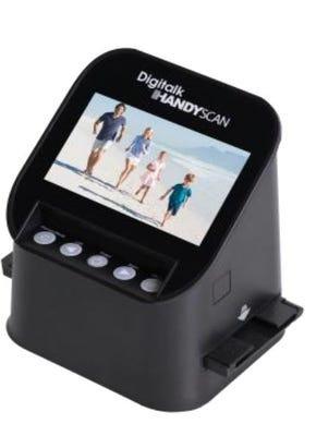 Digitalk HandyScan Slide and Negative Film for Super 8/110/126kpk/135 positive negatives & Slide & B/W film