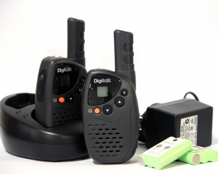 Digitalk PMR-SP3181 Twin Pack with Charging Cradle