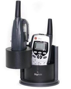 Digitalk PMR-SP8081 Twin Pack with Charging Craddle