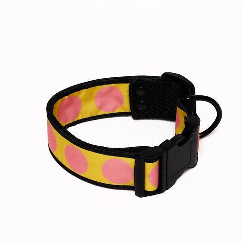 Collar Pink Polka