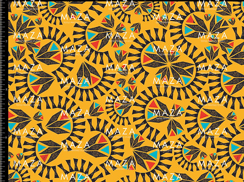 Africa Yellow/Black