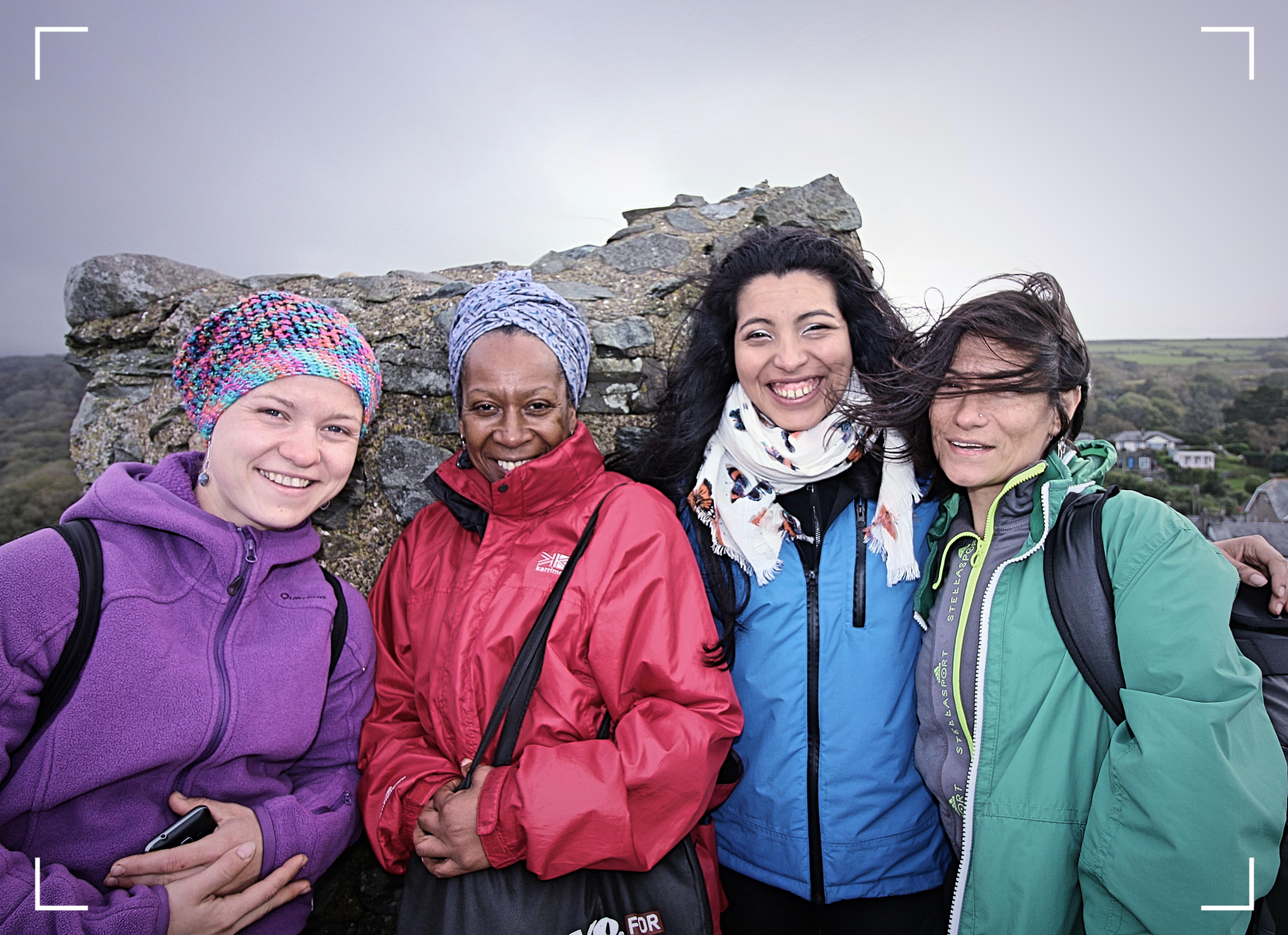 Women Web / exploring The Snowdonia