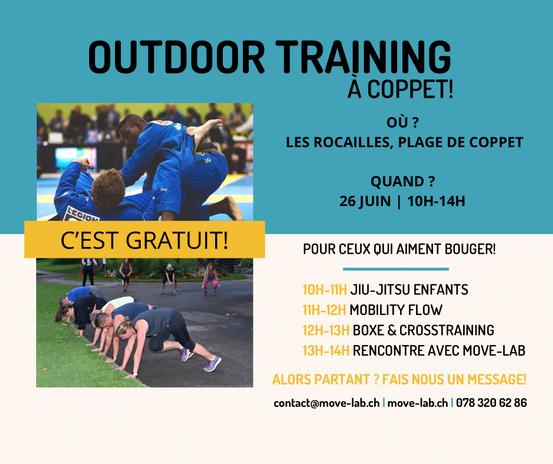 Événement du 26 juin 2021 - Plage Les Rocailles, Coppet